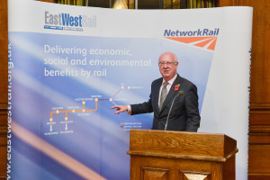 Cllr Ian Bates, Chair of East West Rail Consortium Central Section Board