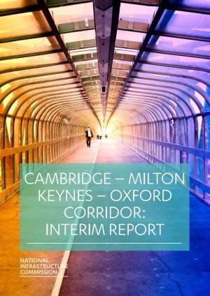 NIC Cambridge Milton Keynes - Oxford Interim Report