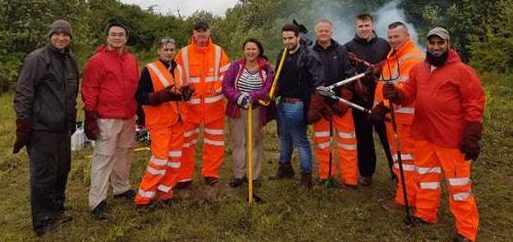 Working with the community: Adding social value to East West Rail